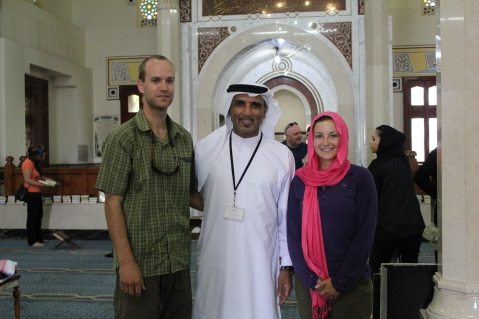 Visit to the Jumeirah Mosque