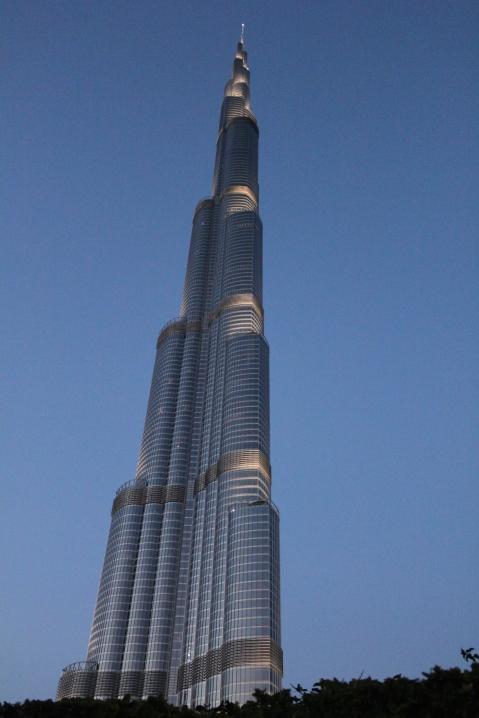 The Burj Khalifa - tallest building in the world
